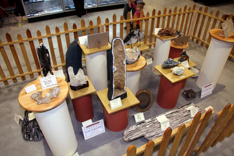 Mineral & Fossil Display