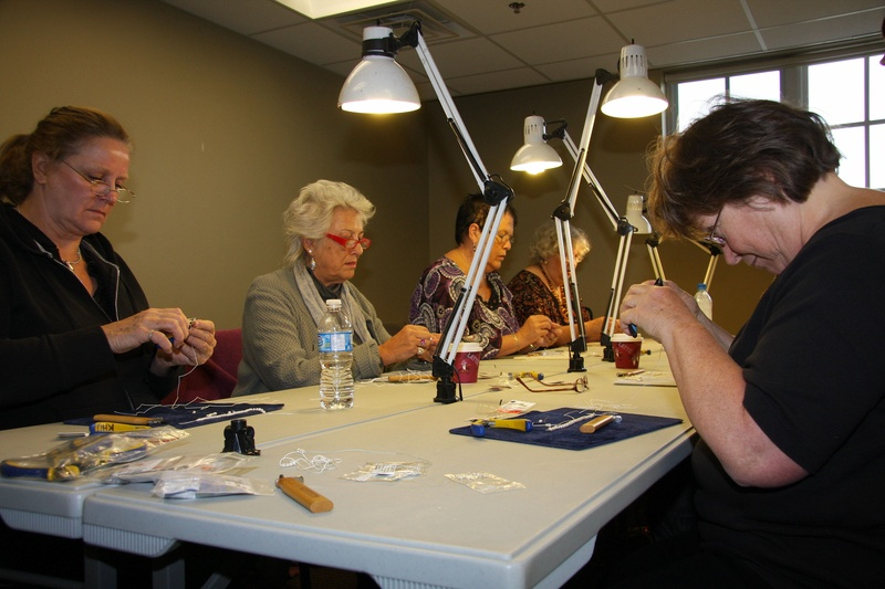 Pearl Knotting Class
