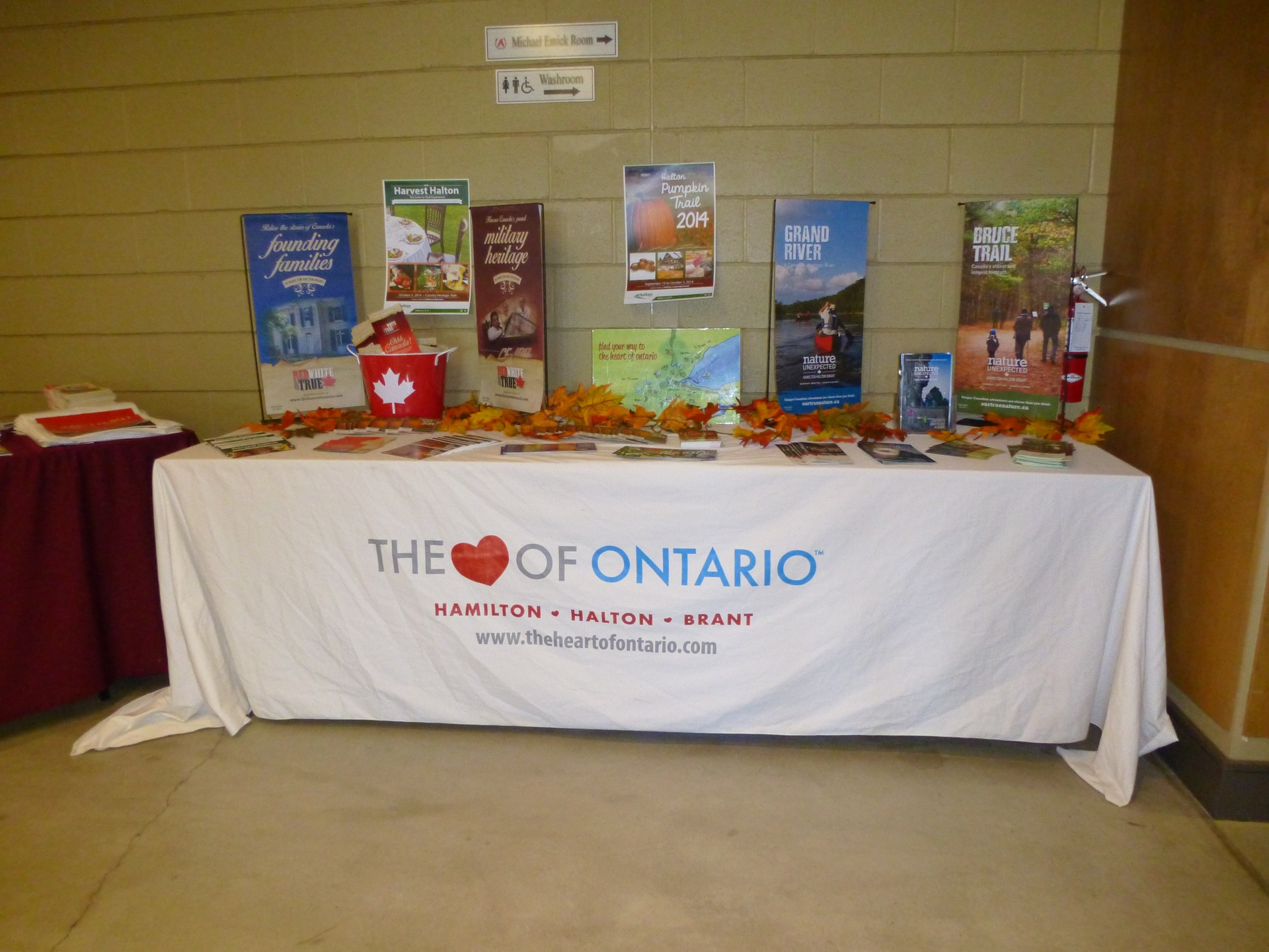 The Heart of Ontario Display