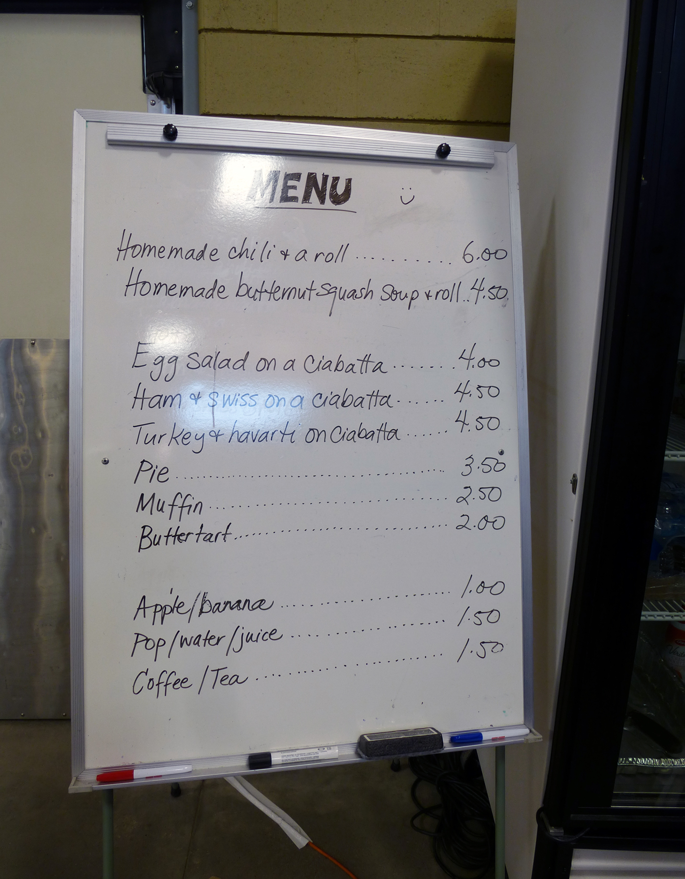 Food Court Menu